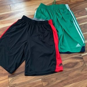 Adidas boys shorts size small
